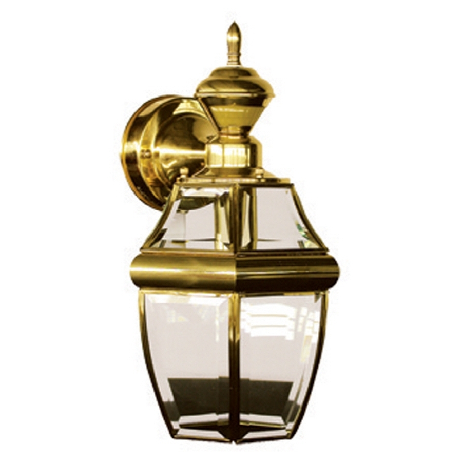 Polished Brass Outdoor Ceiling Lights Intended For Recent Shop Secure Home Hanging Carriage  (View 8 of 20)