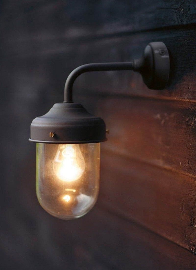 Popular Barn Outdoor Wall Lighting Within Coffee Bean Barn Lamp Is A Stylish, Durable Outdoor Garden Wall (View 15 of 20)
