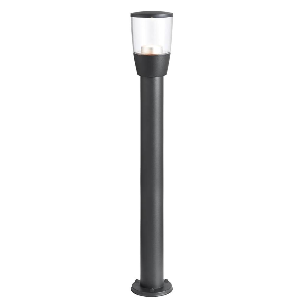 Popular Endon Lighting Canillo Outdoor Single Led Bollard Light In Dark Matt Within Endon Lighting Outdoor Wall Lanterns (View 17 of 20)
