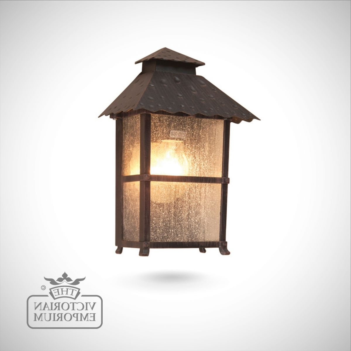 Popular Half Lantern Outside Wall Lights Regarding Wadebridge Half Lantern (View 14 of 20)