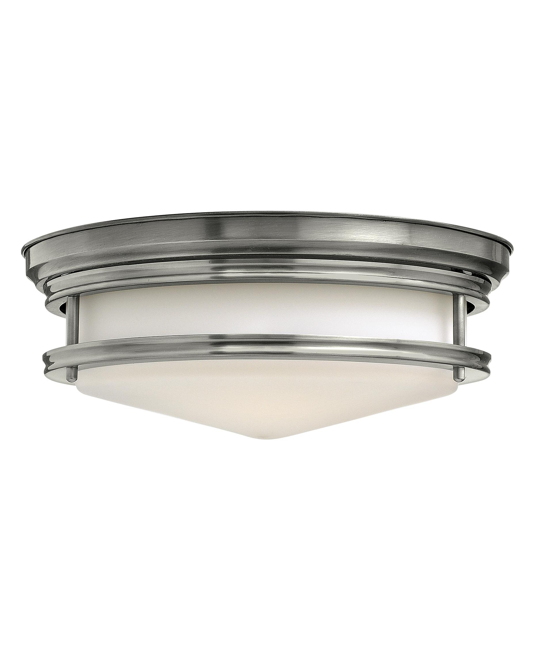 Popular Hinkley Lighting 3301 Hadley 14 Inch Wide Flush Mount (View 19 of 20)