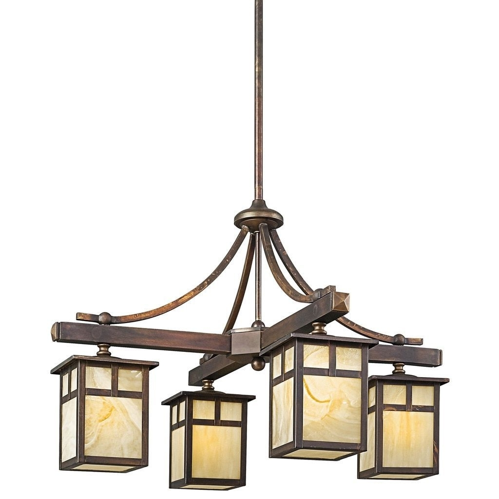 Popular Kichler Lighting Alameda Collection 4 Light Canyon View Indoor Pertaining To Outdoor Chandelier Kichler Lighting (View 1 of 20)