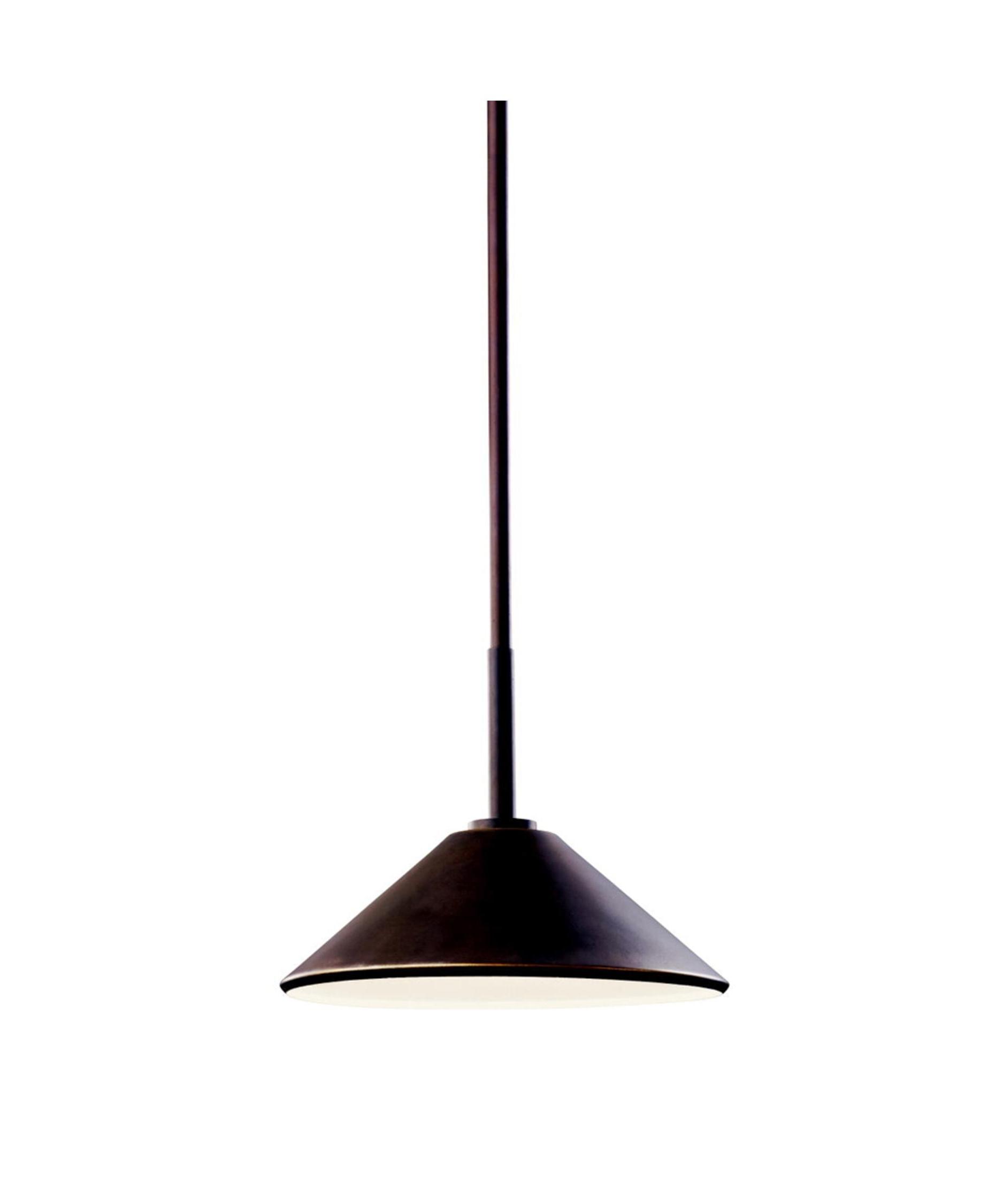 Popular Kichler Outdoor Hanging Lights Regarding Kichler 49062 Ripley 10 Inch Wide 1 Light Outdoor Hanging Lantern (View 15 of 20)