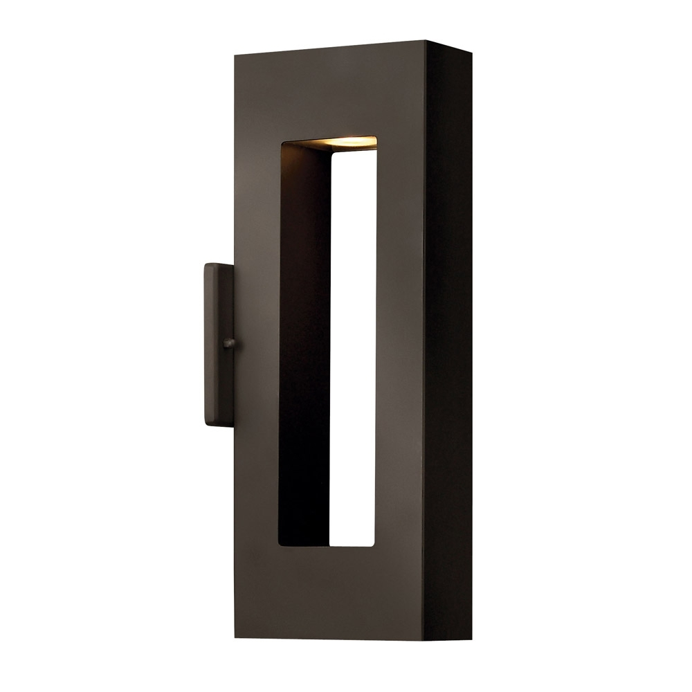 Popular Light : Outdoor Wall Mounted Lighting Led Lights Contemporary New Inside Outdoor Wall Garage Lights (View 17 of 20)