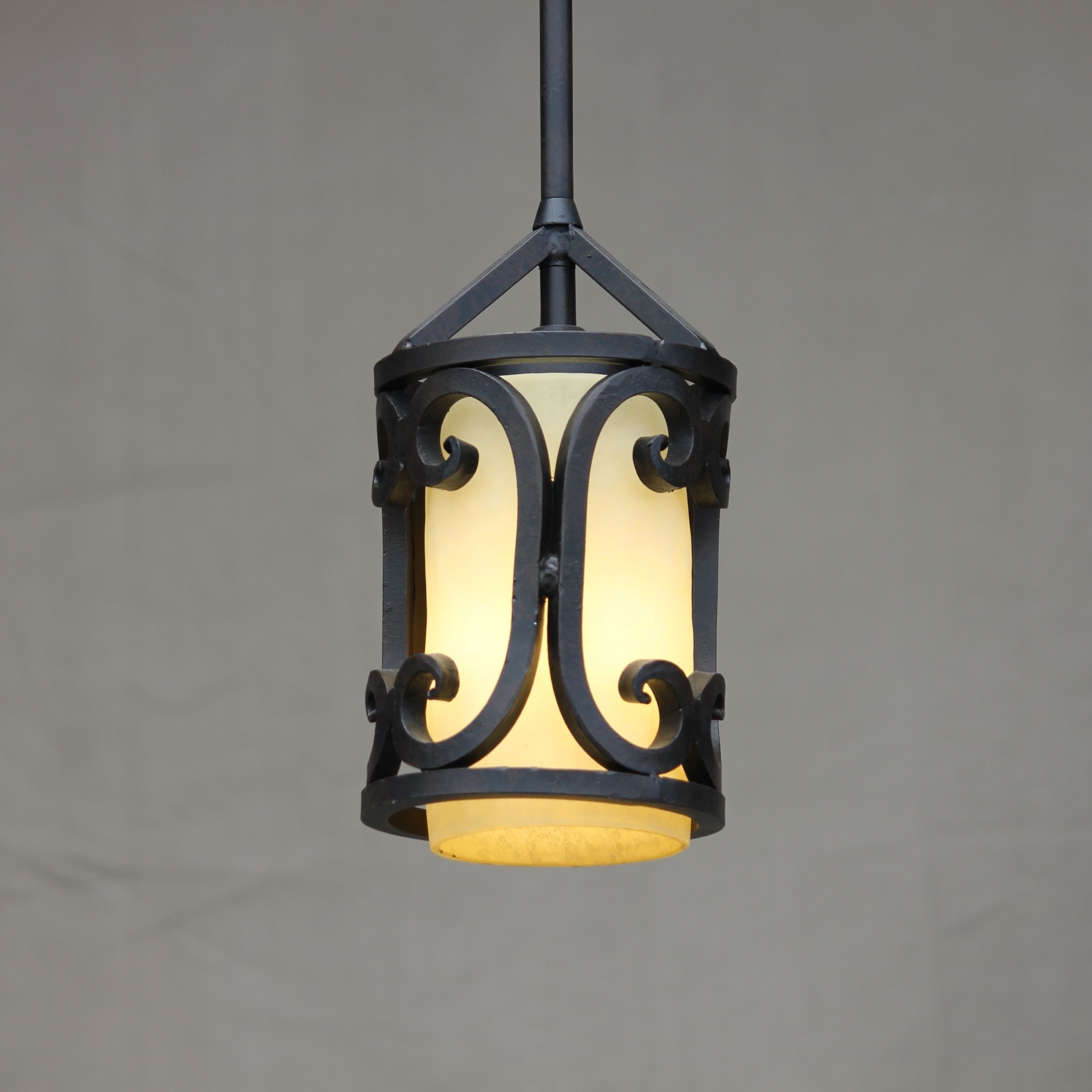 Popular Lights Of Tuscany Mini Pendant Lighting – Ceiling Fixtures – Fixtures Within Outdoor Iron Hanging Lights (Gallery 5 of 20)