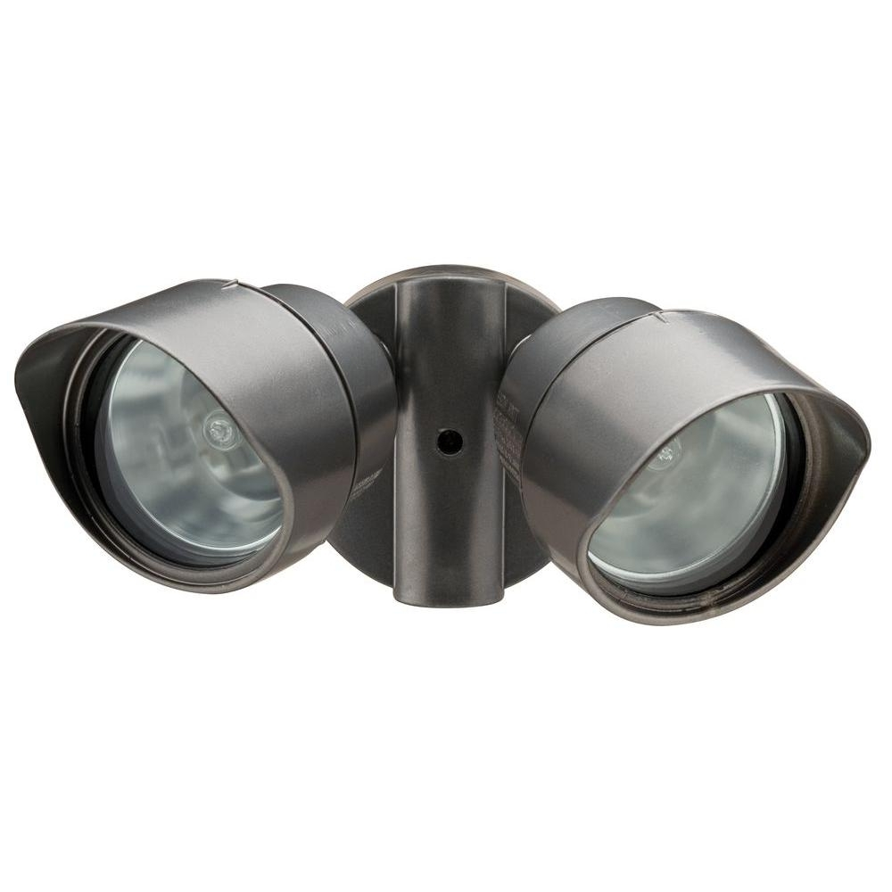 Popular Lithonia Lighting Wall Mount Outdoor Bronze Led Floodlight With Motion Sensor With Regard To N 2 Lamp Outdoor Bronze Floodlight Oftr 200Q 120 Lp Bz M12 – The (View 7 of 20)
