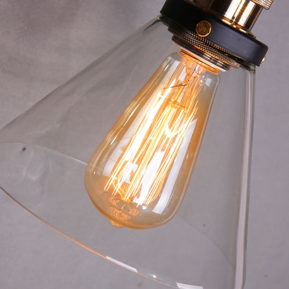 Popular Loft Industrial Wall Sconce American Vintage Wall Lamp Retro Outdoor Throughout Retro Outdoor Wall Lighting (View 14 of 20)