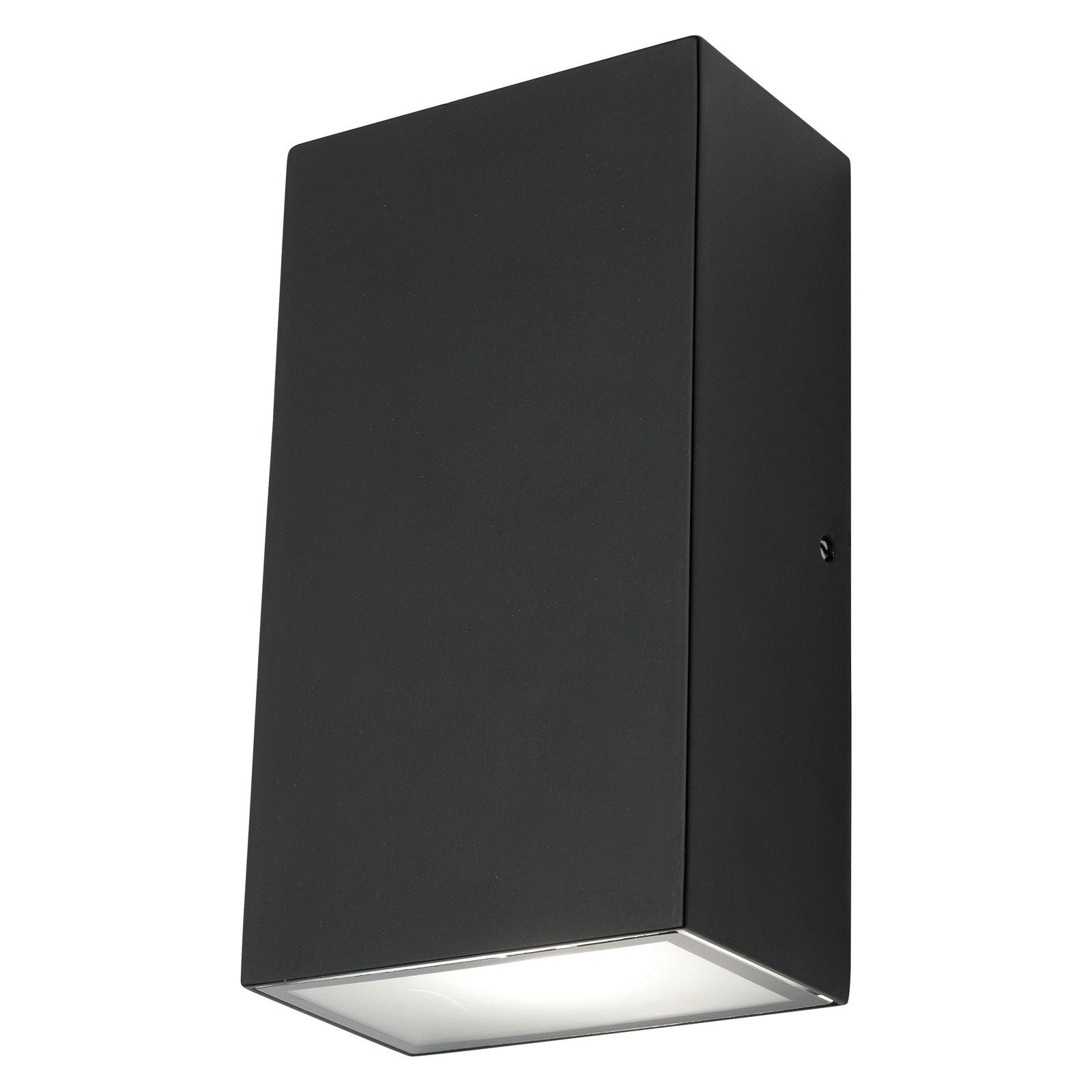 Popular Mercator Brenton Led Square Black Up/down Exterior Wall Light For Square Outdoor Wall Lights (View 10 of 20)