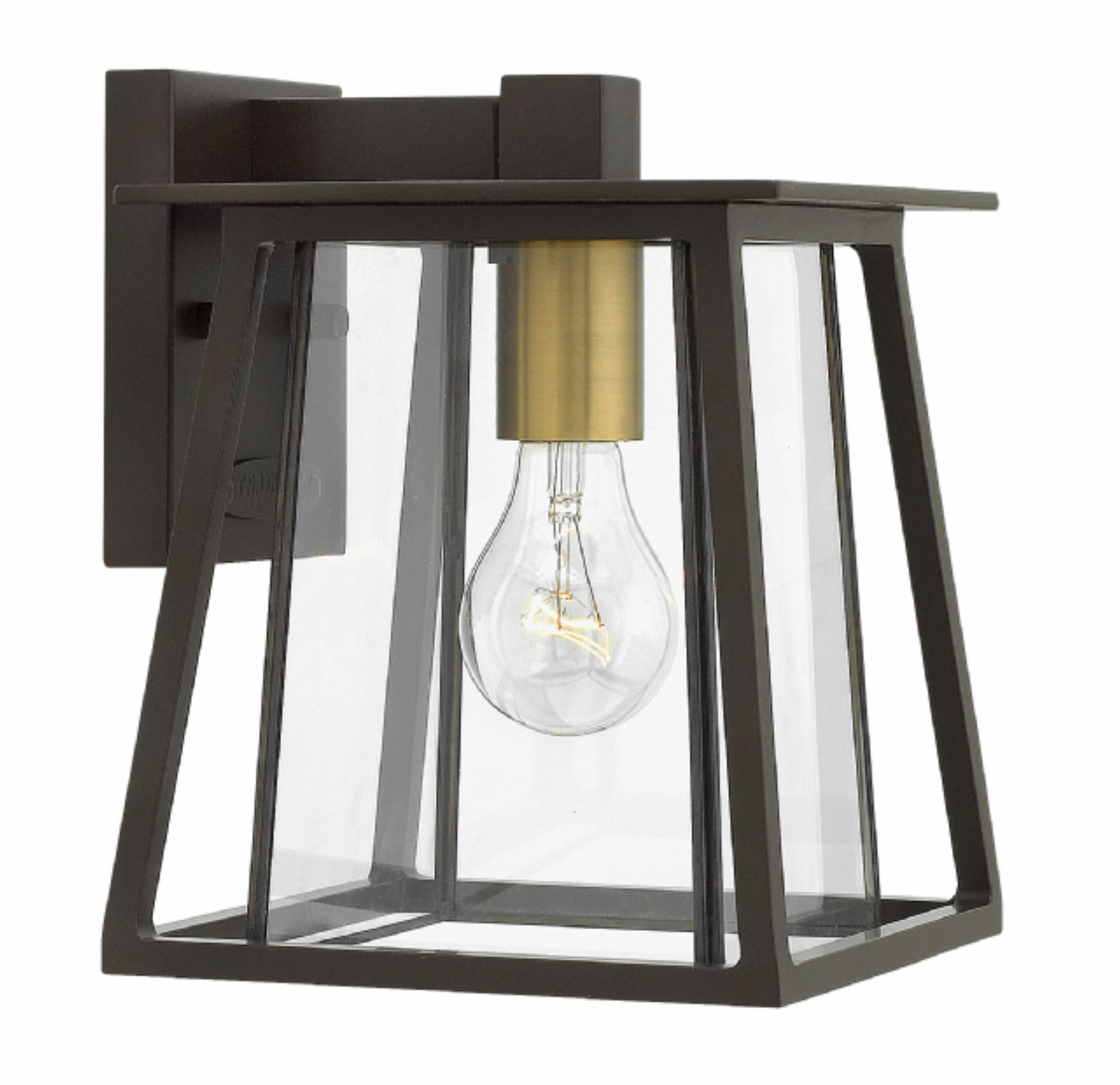 Popular Mini Wall Mount Hinkley Lighting With Regard To Buckeye Bronze Walker > Exterior Wall Mount (View 5 of 20)
