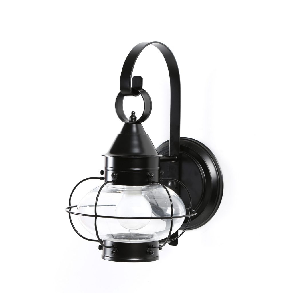 Popular Norwell Lighting Cottage Onion 1 Light Outdoor Wall Lantern Cottage Pertaining To Beach Outdoor Wall Lighting (View 17 of 20)