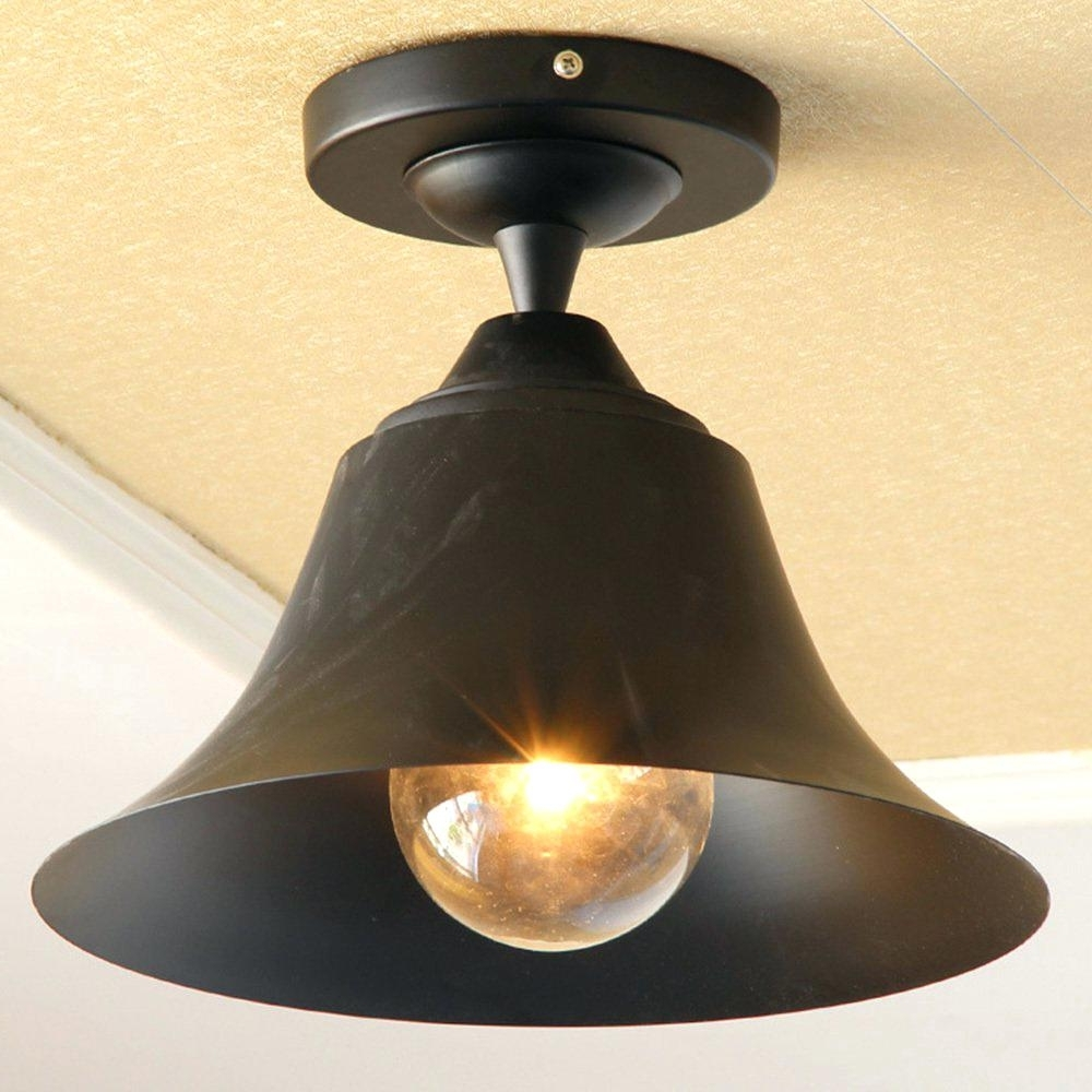 Popular Outdoor Ceiling Light Lights Lowes With Camera Motion Sensors Intended For Outdoor Ceiling Light With Electrical Outlet (View 13 of 20)