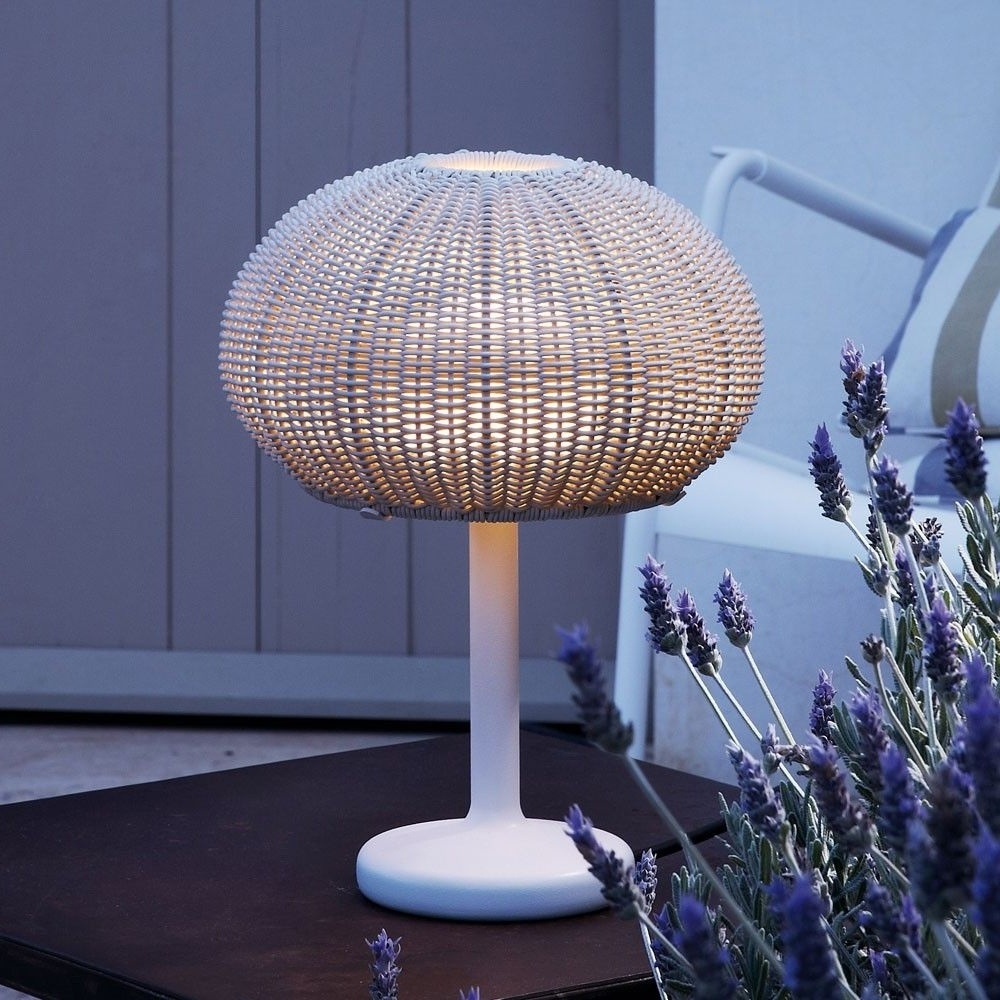 Popular Outdoor Floor Lamps Target Outdoor Wicker Table Lamps Battery Throughout Target Outdoor Wall Lighting (View 13 of 20)