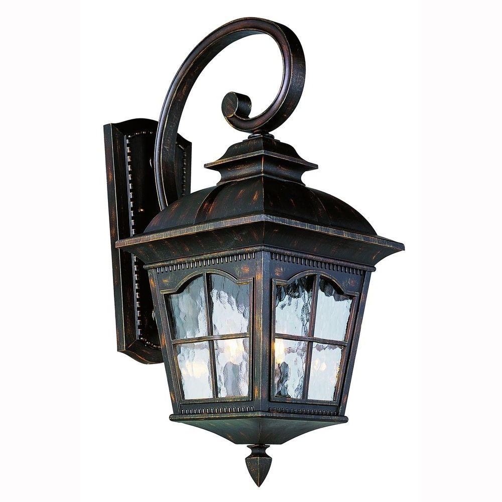 Popular Outdoor Hanging Coach Lanterns In Bel Air Lighting Bostonian 2 Light Antique Rust Outdoor Coach (View 19 of 20)