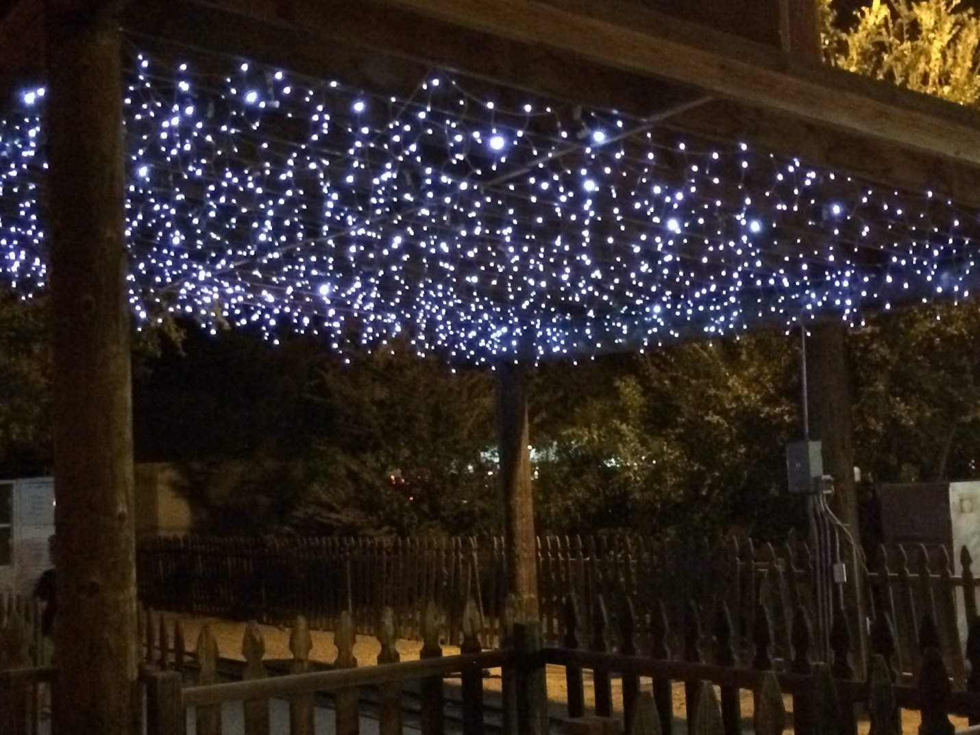 Popular Outdoor Hanging Icicle Lights For Lighting Ideas From Commercial Christmas Decorations (View 7 of 20)