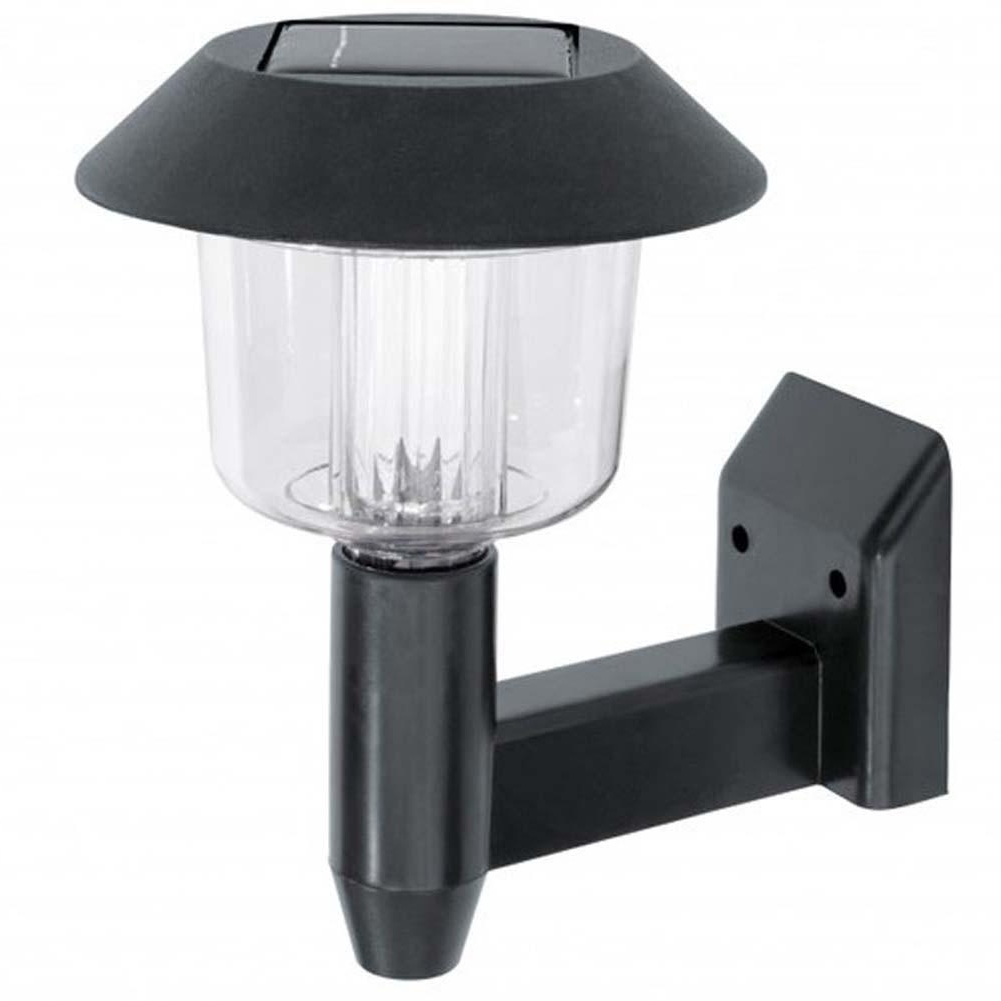 Popular Outdoor Solar Wall Lights With Solar Powered Wall Light Auto Sensor Fence Led Garden Yard Fence (View 3 of 20)