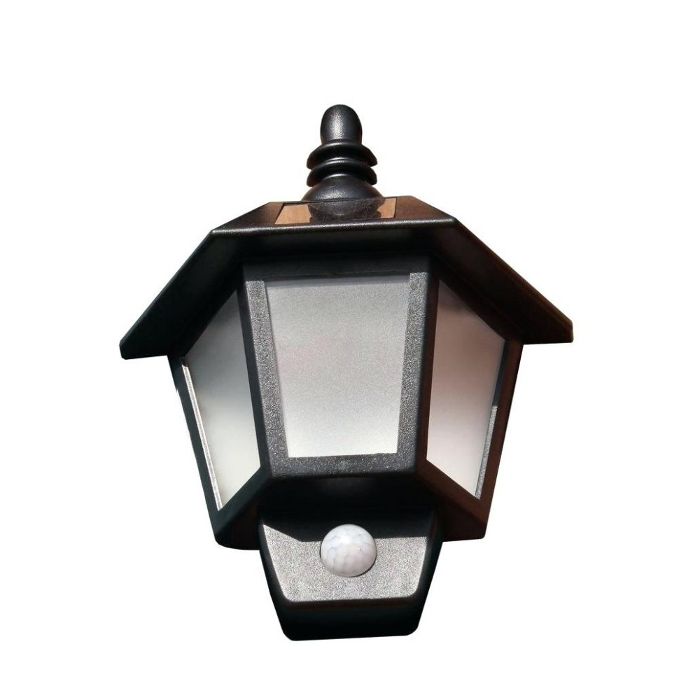 Popular Plastic Outdoor Wall Lighting In Light : Black Wall Mount Outdoor Lighting Mounted Lowes Exterior (View 8 of 20)