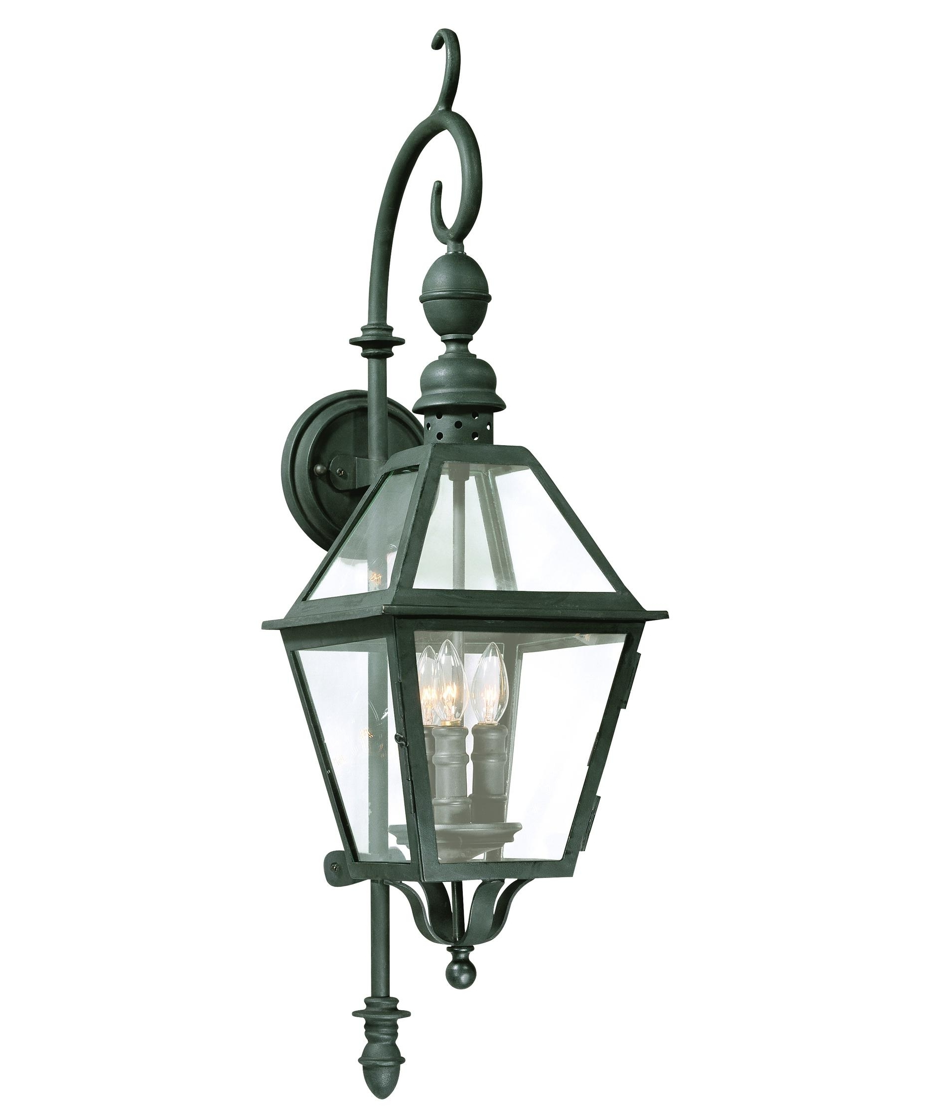 Popular Troy Lighting Outdoor Wall Sconces In Troy Lighting B9621 Townsend 9 Inch Wide 3 Light Outdoor Wall Light (View 8 of 20)
