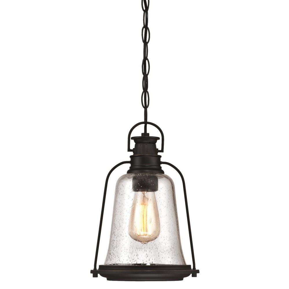Popular Westinghouse Brynn 1 Light Oil Rubbed Bronze With Highlights Outdoor For Oil Rubbed Bronze Outdoor Hanging Lights (View 10 of 20)