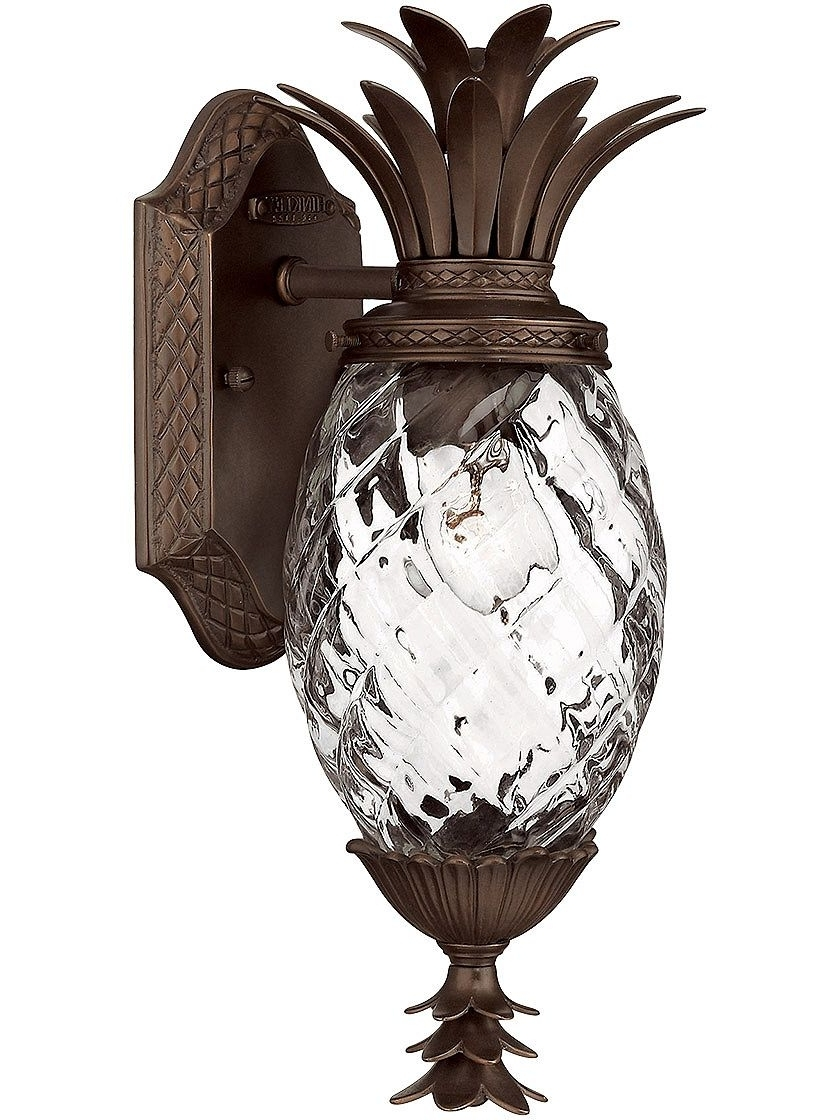 Featured Photo of Pineapple Outdoor Wall Lights