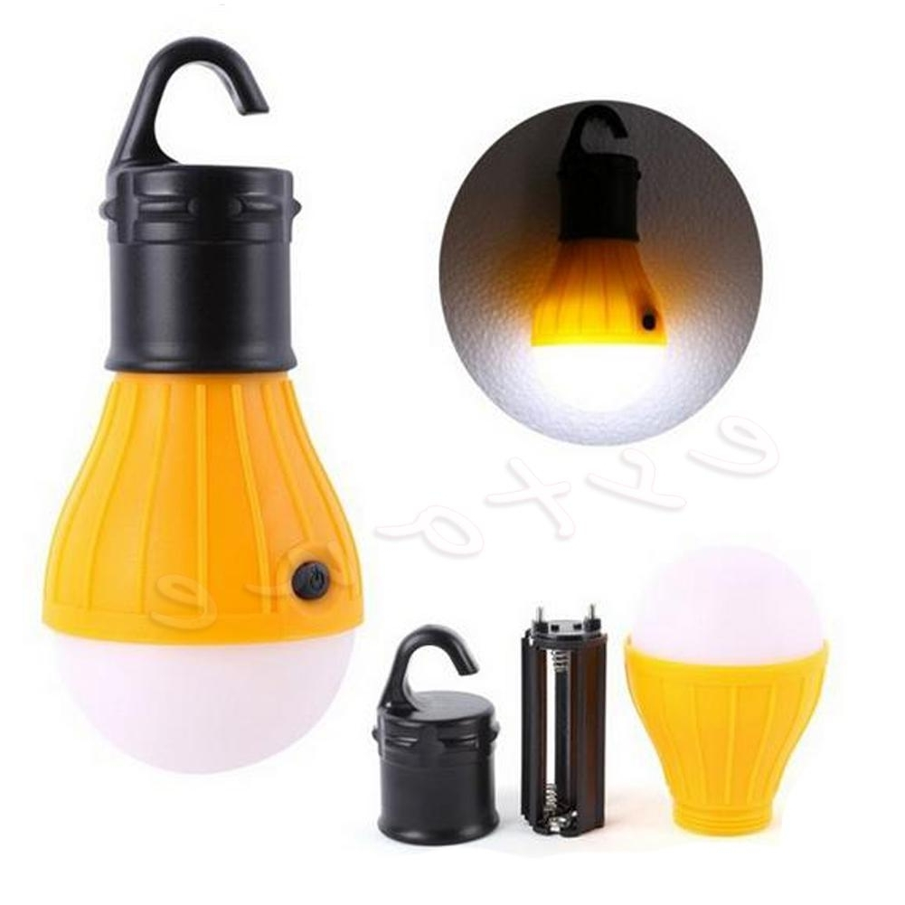Portable Lanterns Outdoor Hanging 3Led Camping Lantern Soft Light For Favorite Outdoor Hanging Plastic Lanterns (View 17 of 20)