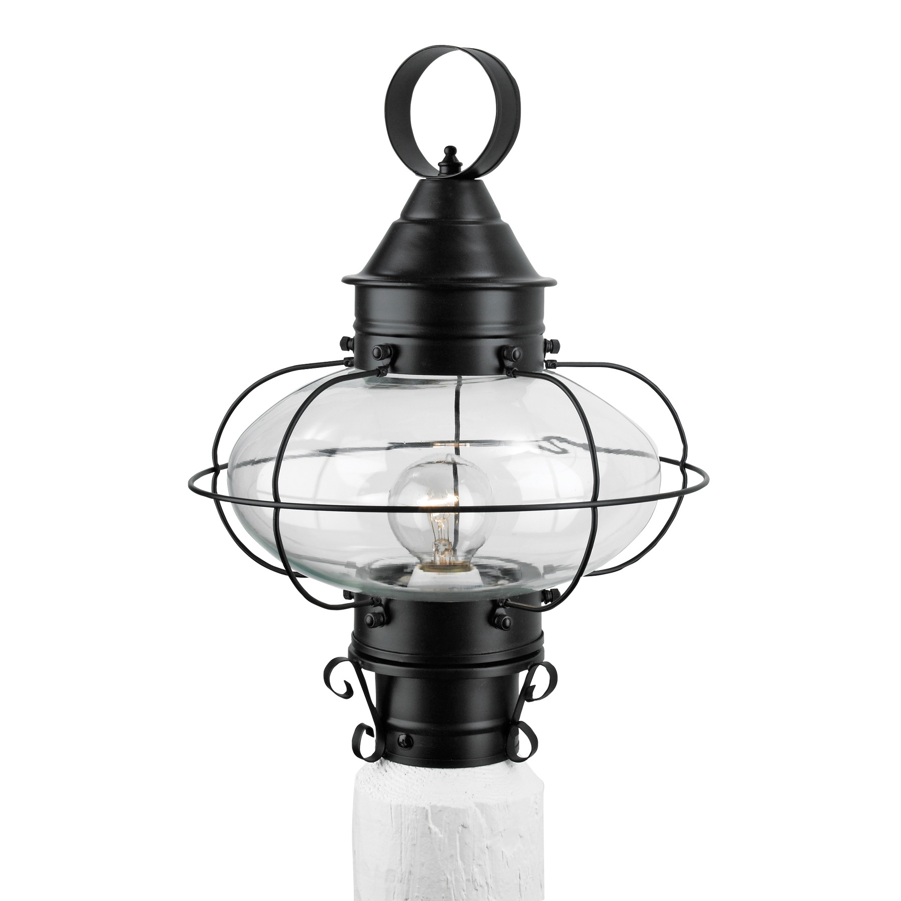 Post Lights Wayfair Cottage Onion 1 Light Outdoor Lantern ~ Loversiq With Regard To Well Liked Wayfair Led Post Lights (View 11 of 20)