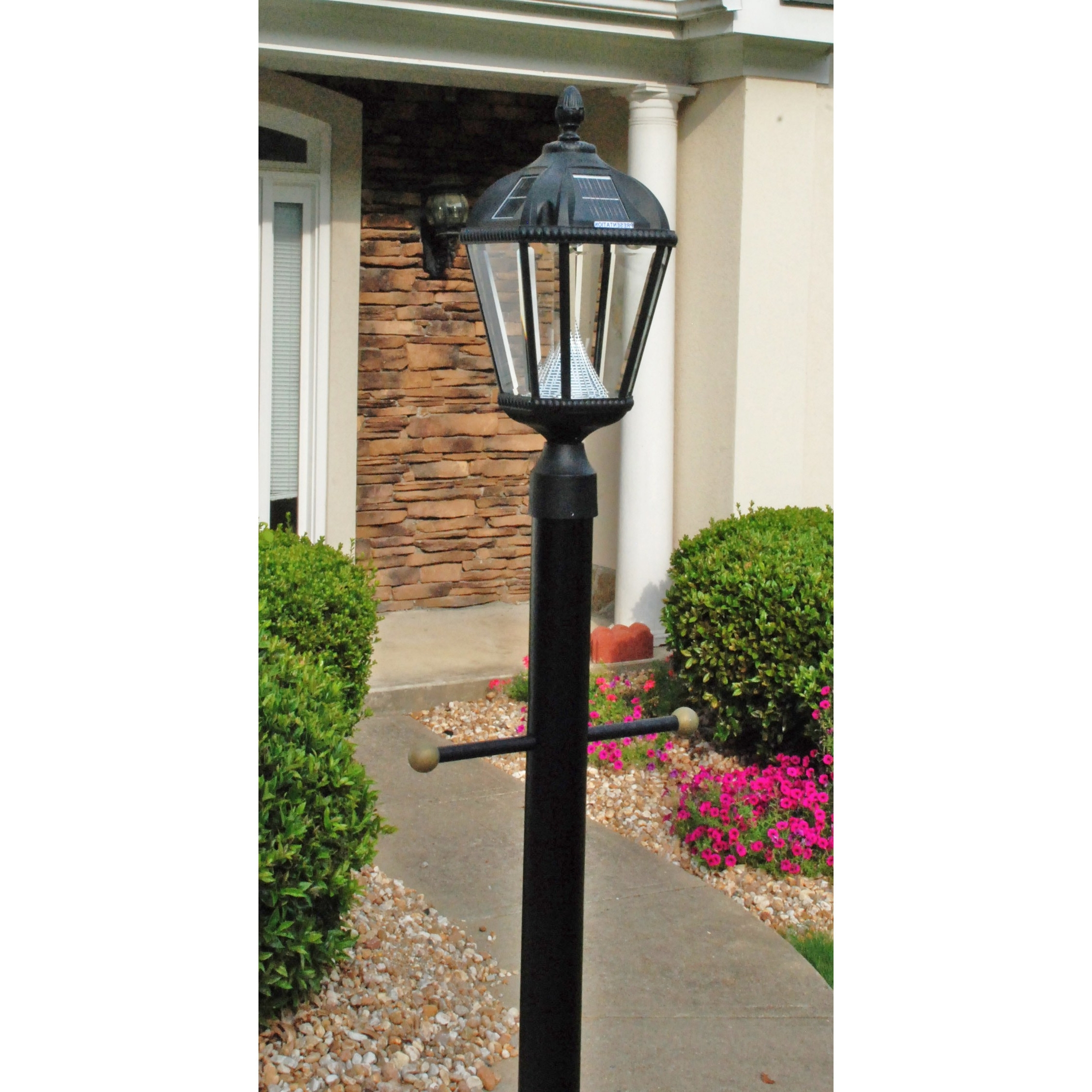 Post Lights Wayfair Royal Seven Led Solar Light Fixture On Three Within Most Popular Wayfair Led Post Lights (View 12 of 20)