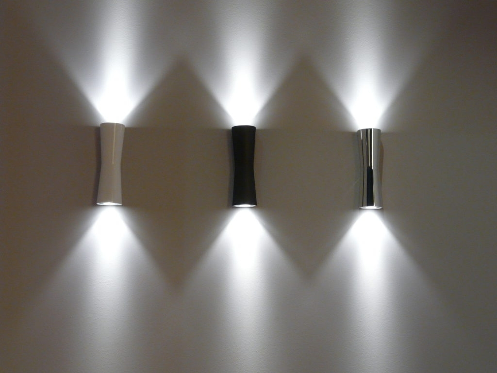 Preferred Battery Outdoor Wall Lighting Throughout Modern Led Outdoor Wall Sconce (View 12 of 20)