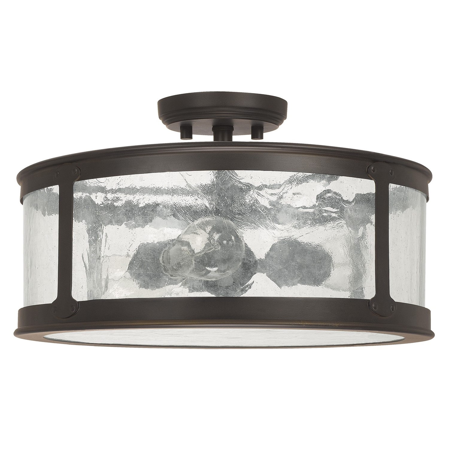 Preferred Capital Lighting 9567Ob Dylan Old Bronze Outdoor Semi Flush Mount Within Outdoor Semi Flush Ceiling Lights (View 9 of 20)