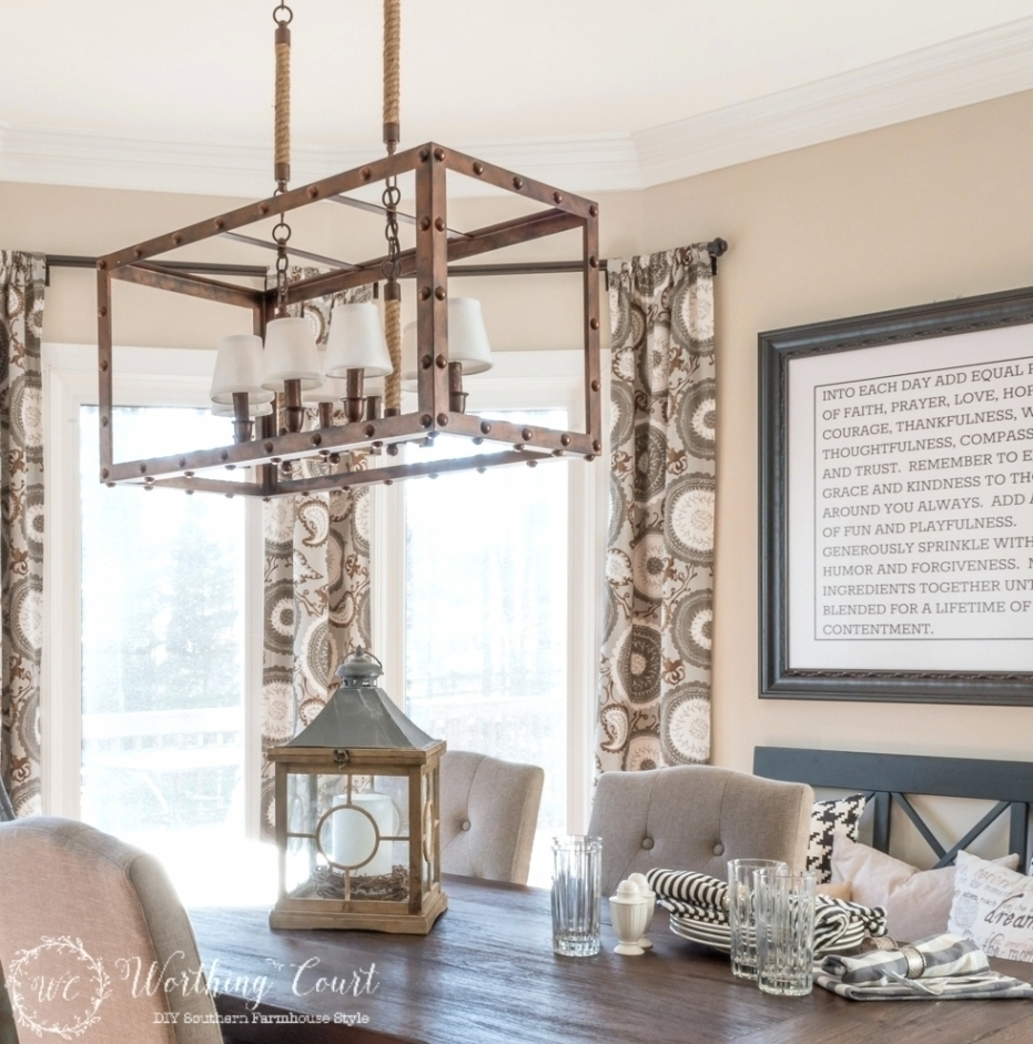 Preferred Chandeliers Design : Awesome Farmhouse Chandelier Cottage Homeâ Intended For Outdoor Hanging Bar Lights (View 15 of 20)