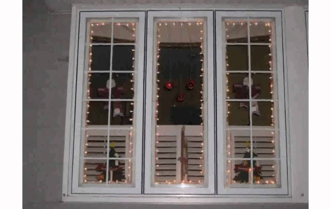 Preferred Christmas Window Lights – Youtube With Regard To Hanging Outdoor Christmas Lights Around Windows (View 18 of 20)
