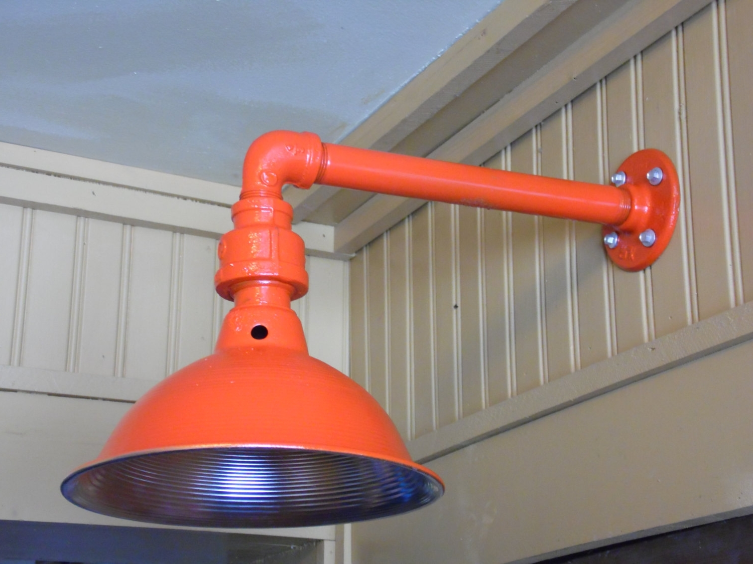 Preferred Custom Colored Light Fixture • Id Lights For Diy Outdoor Wall Lights (View 15 of 20)