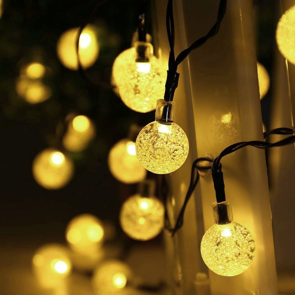 Preferred Decoration : Outdoor String Lights Round Bulbs Market String Lights With Regard To Outdoor Hanging Decorative Lights (View 12 of 20)