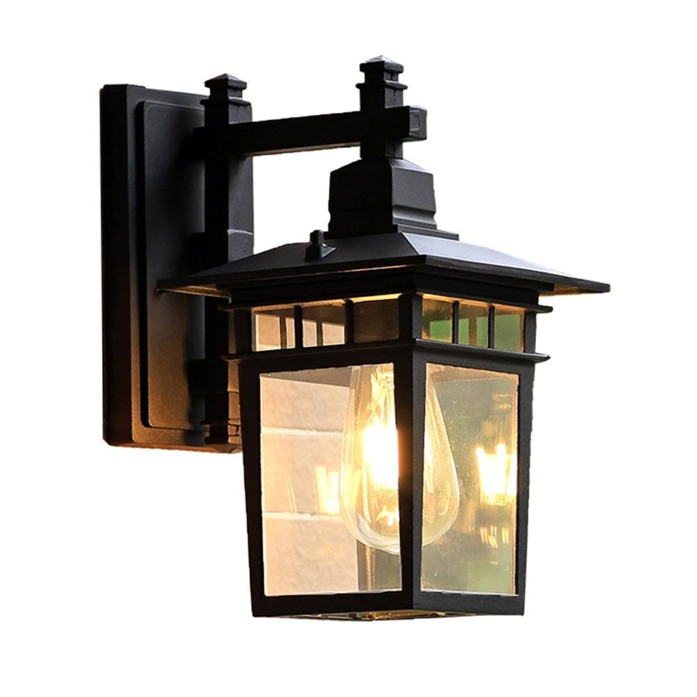 Preferred European Outdoor Wall Lighting For European Style Outdoor Wall Lamp Waterproof Special Outdoor Villa (View 15 of 20)
