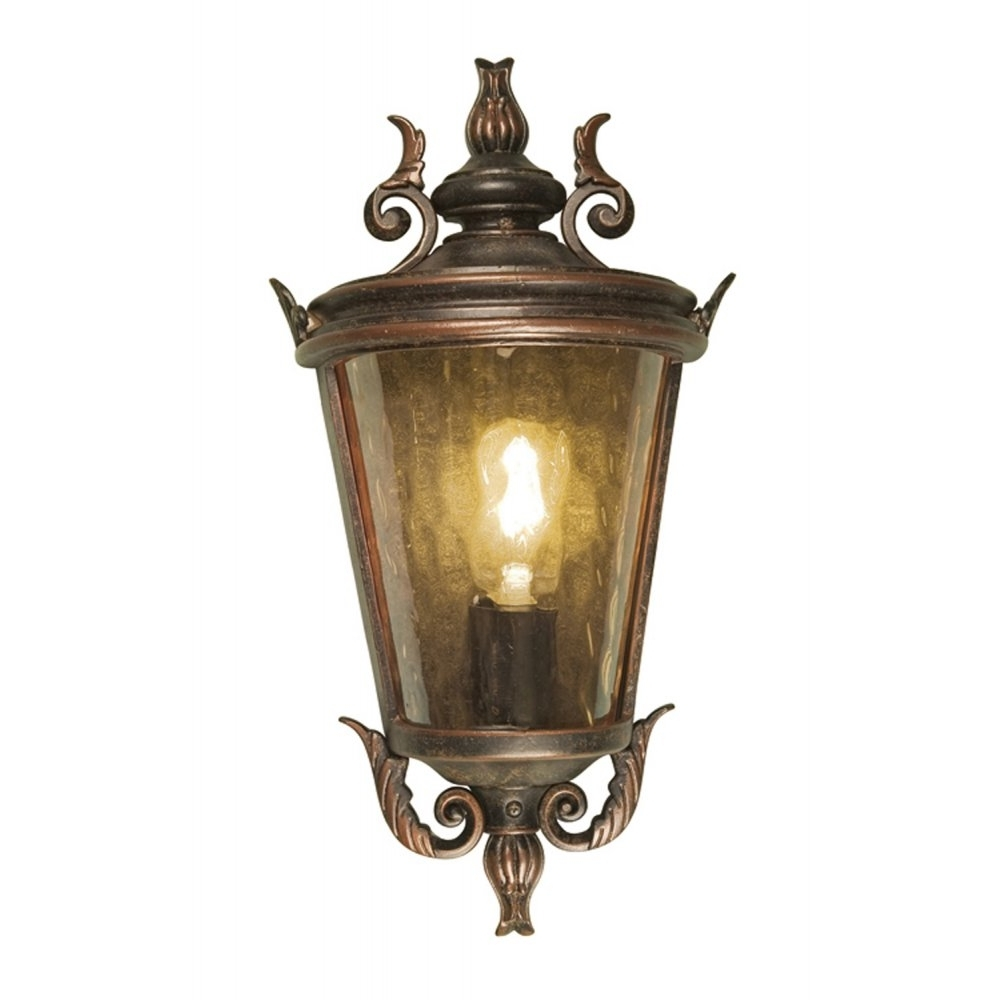 Preferred Half Lantern Outside Wall Lights Within Diy : Elstead Lighting Balmoral Large Half Wall Lantern Outdoor (View 15 of 20)