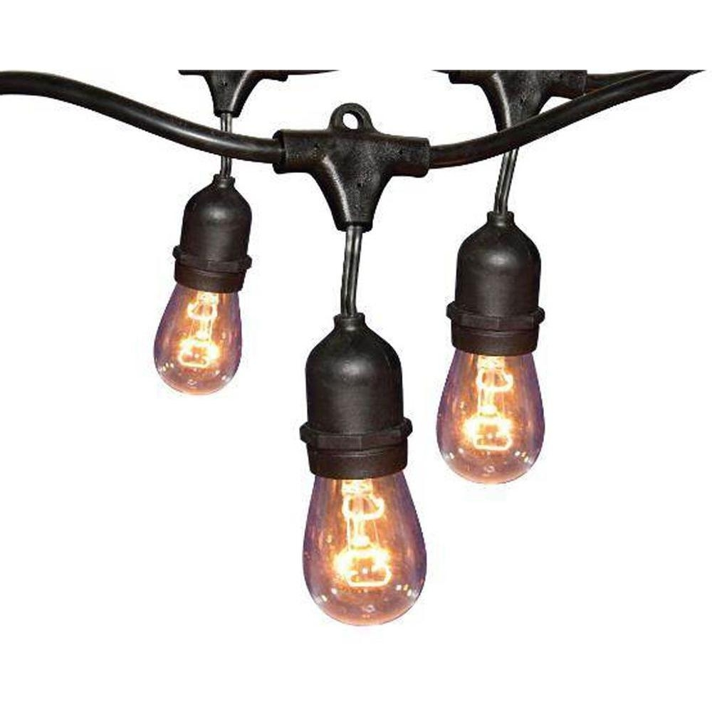 Featured Photo of Home Depot Outdoor String Lights