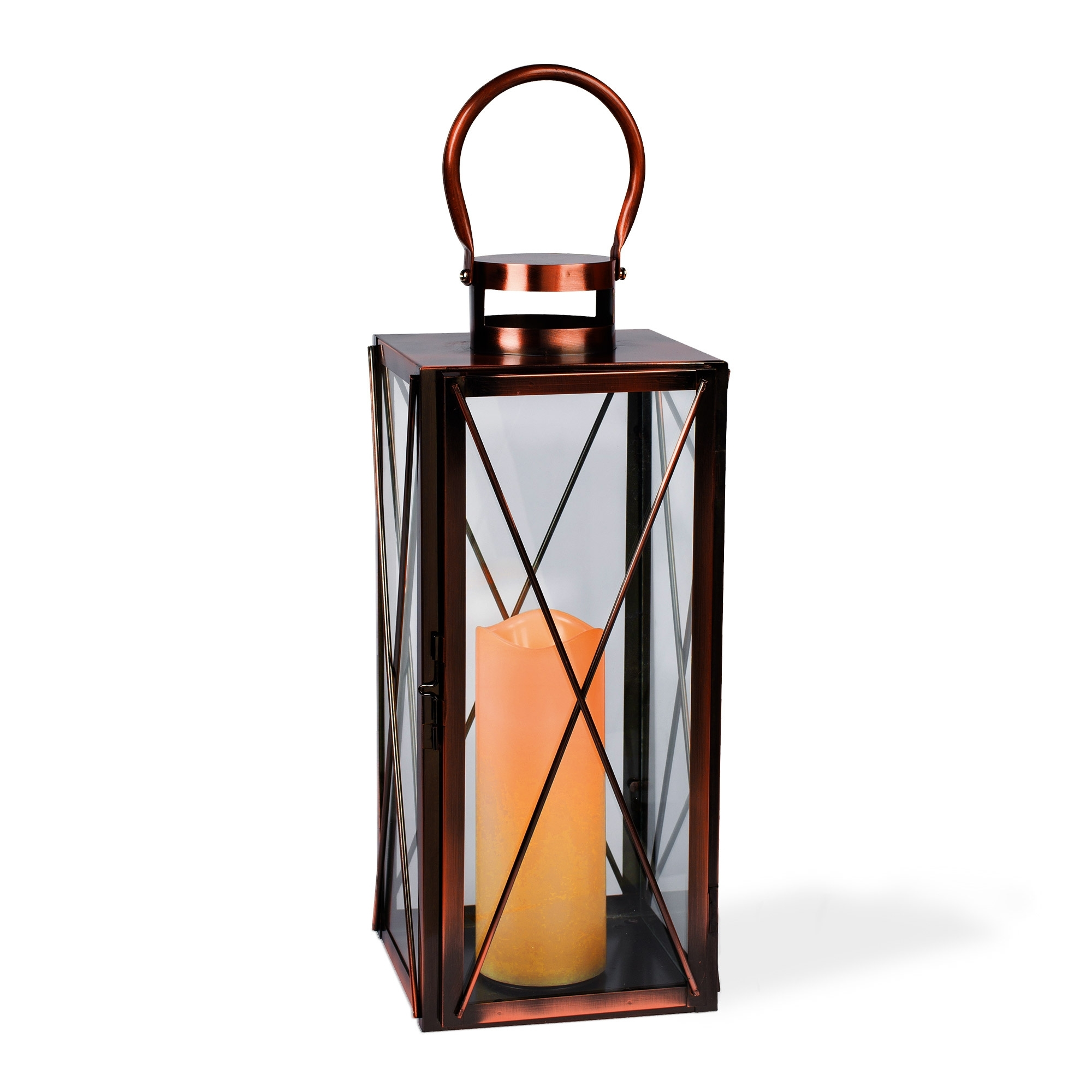 Preferred Interior : Hanging Candle 16Inch Copper Lantern Australia Outdoor Regarding Outdoor Hanging Candle Lanterns At Wholesale (View 16 of 20)