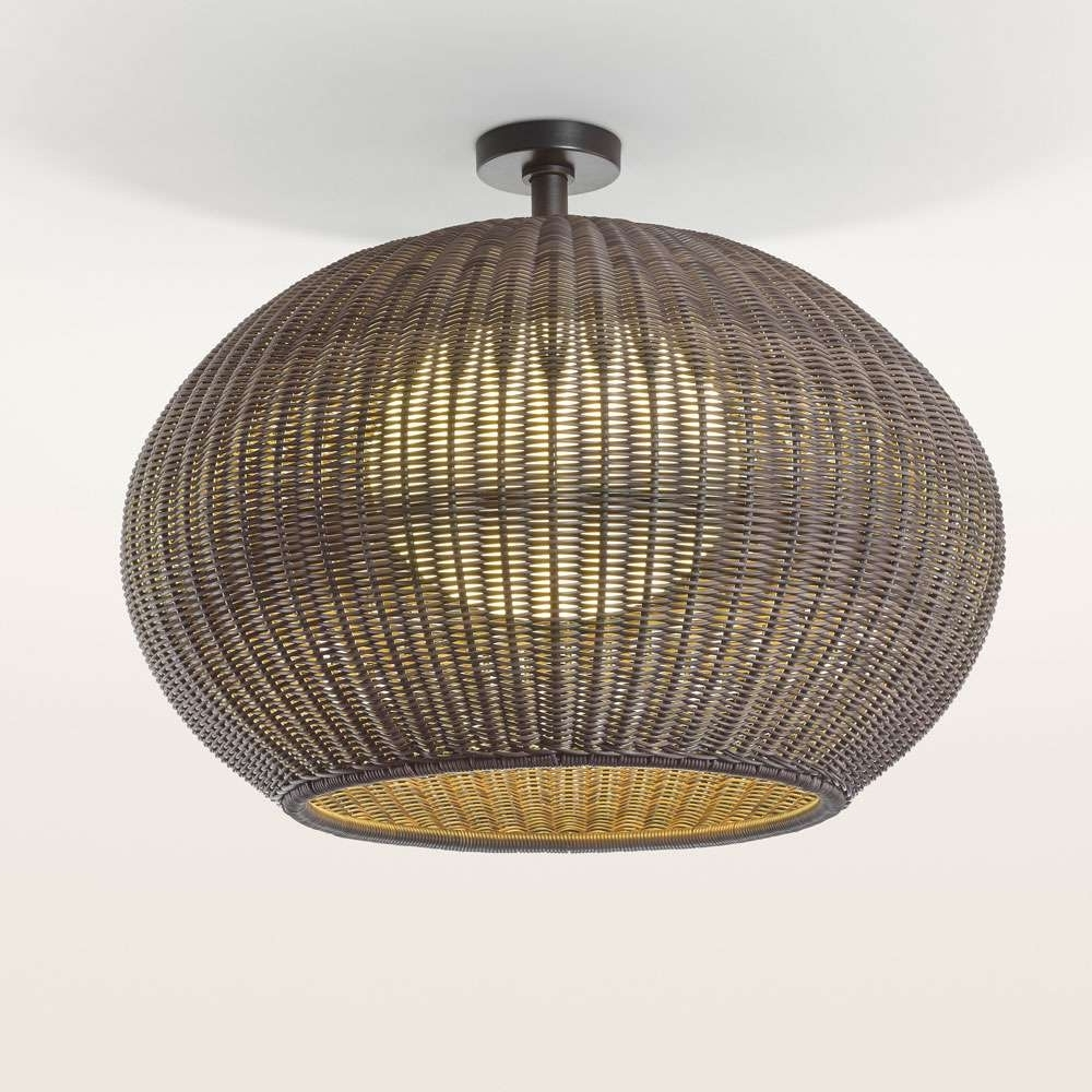 Preferred Led Outdoor Ceiling Light With 17W 12 In Round Fixture 4000K In Outdoor Ceiling Lights At Bunnings (View 13 of 20)
