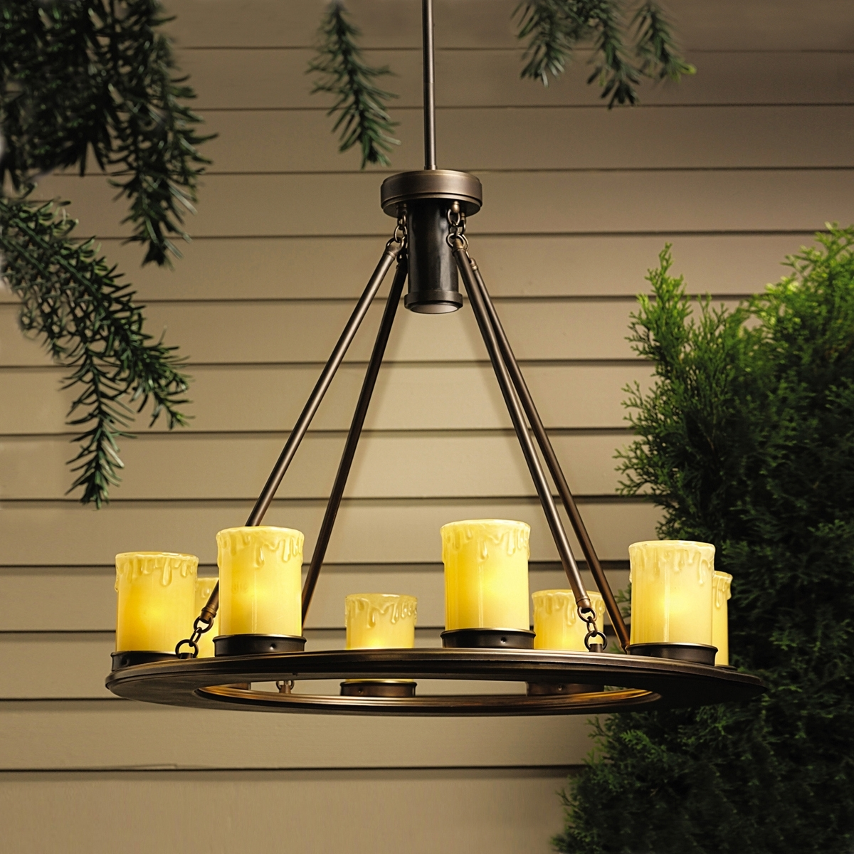 Preferred Let Outdoor Kichler Lighting Within The Oak Trail Garden Collection Combine Rugged Good Looks With (View 4 of 20)