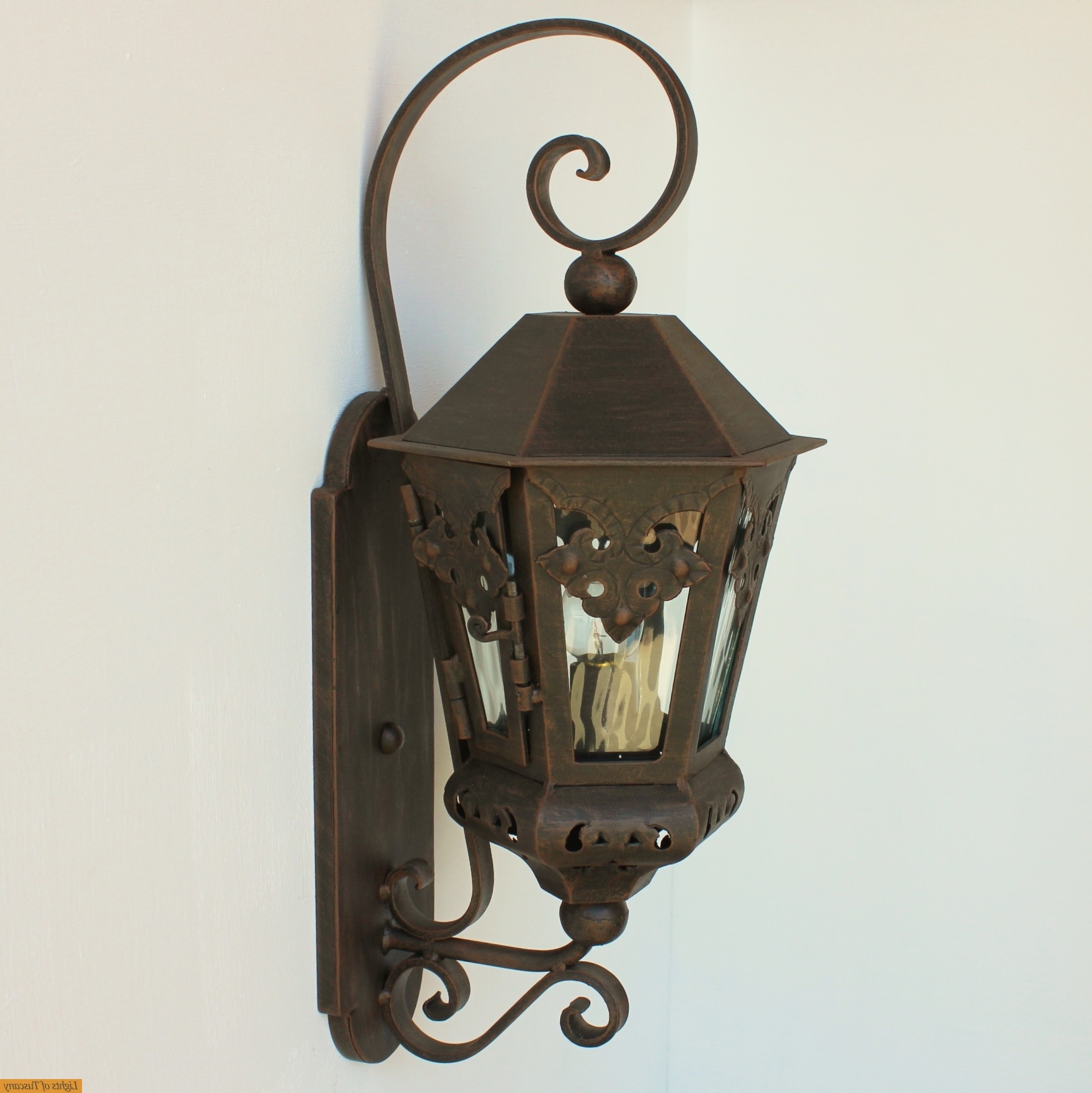 Preferred Lights Of Tuscany Authentic Spanish Colonial Outdoor Exterior With Tuscan Outdoor Wall Lighting (View 12 of 20)