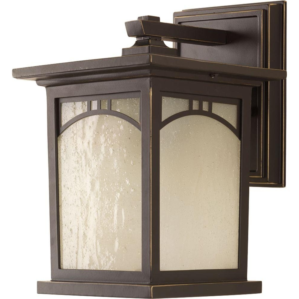 Preferred Mission Style Outdoor Wall Lighting Regarding Progress Lighting Residence Collection 1 Light Outdoor 6 Inch (View 16 of 20)