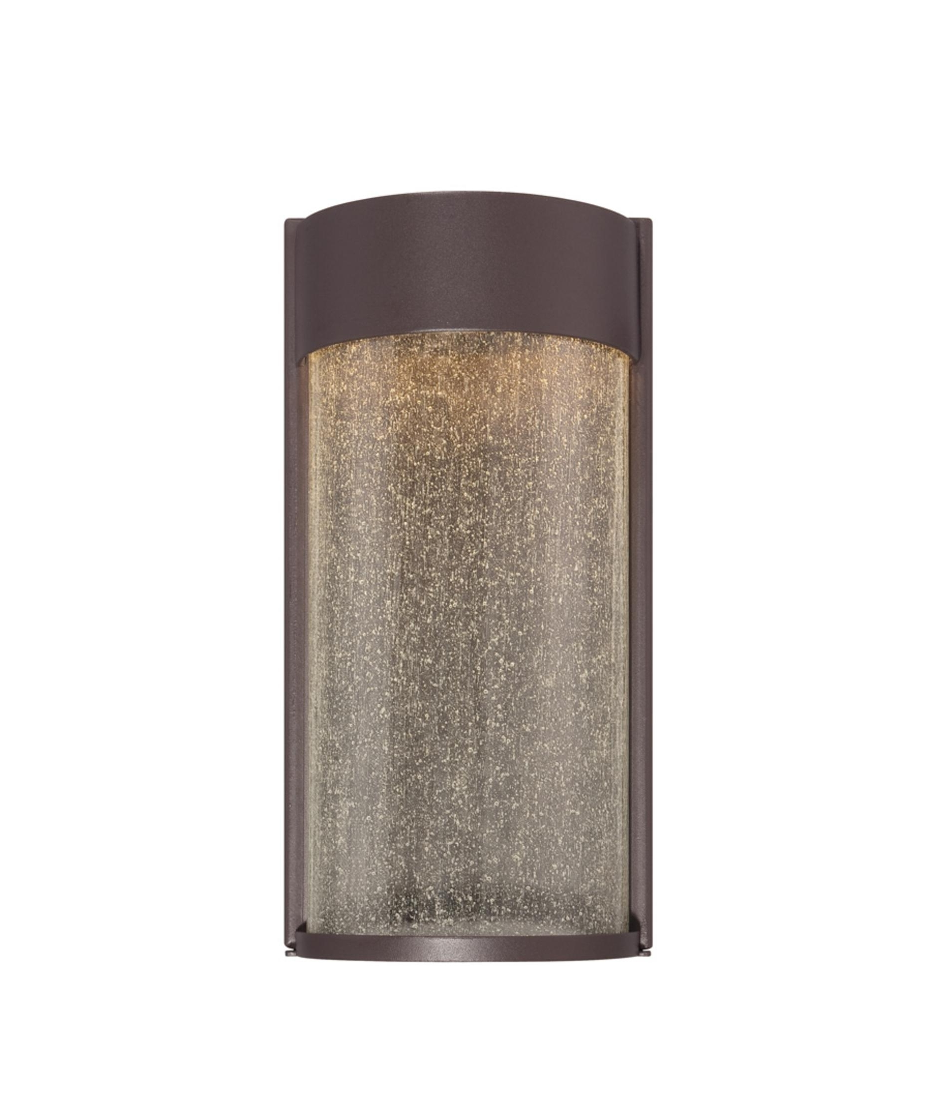 Preferred Modern Outdoor Wall Lighting Pertaining To Modern Forms Ws W2412 Rain 6 Inch Wide 2 Light Outdoor Wall Light (View 12 of 20)
