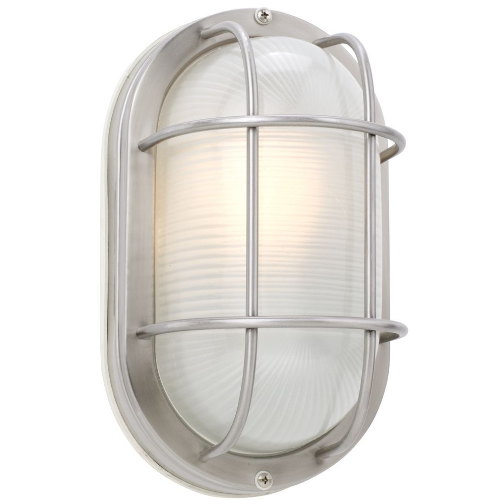 Preferred Outdoor Ceiling Bulkhead Lights Inside 11 Inch Oval Bulkhead Light (View 18 of 20)