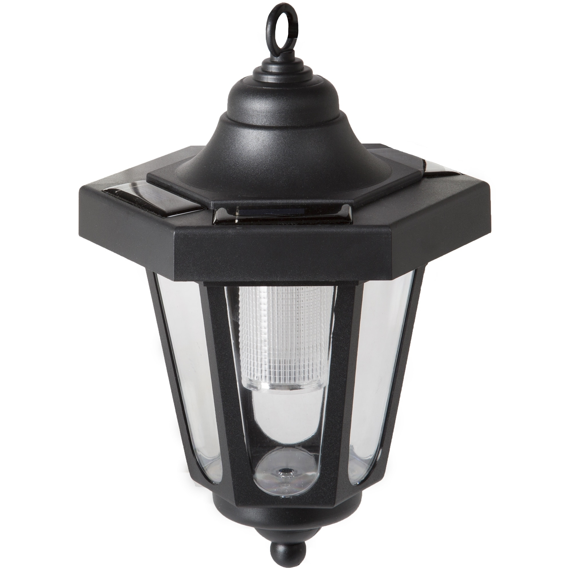 Preferred Outdoor Hanging Coach Lanterns Within Pure Garden Solar Led Black Hanging Coach Lantern (Set Of 2) – Free (View 13 of 20)