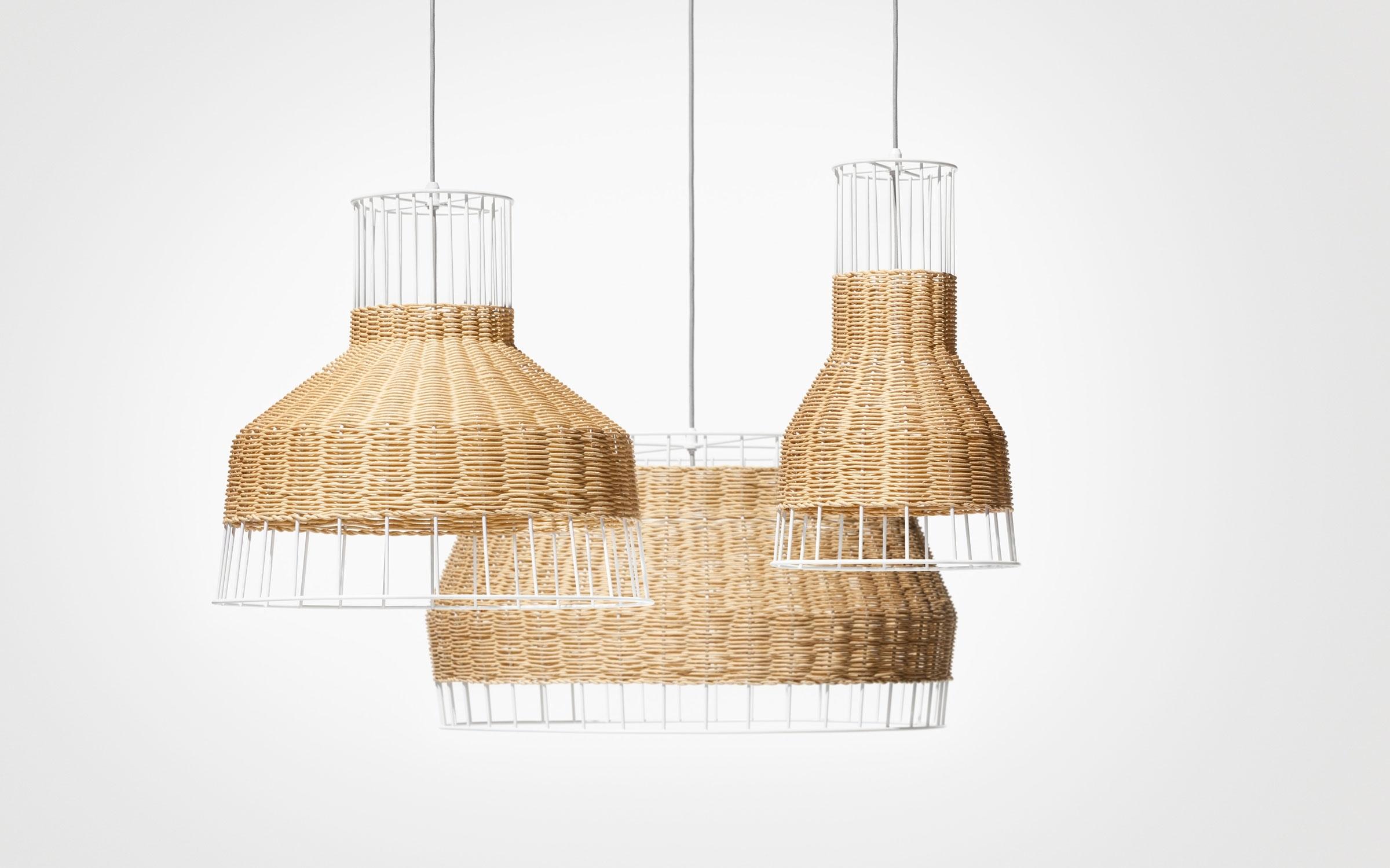 Preferred Outdoor Rattan Hanging Lights In Laika Pendant Light – Rattan Pendant Light (View 2 of 20)