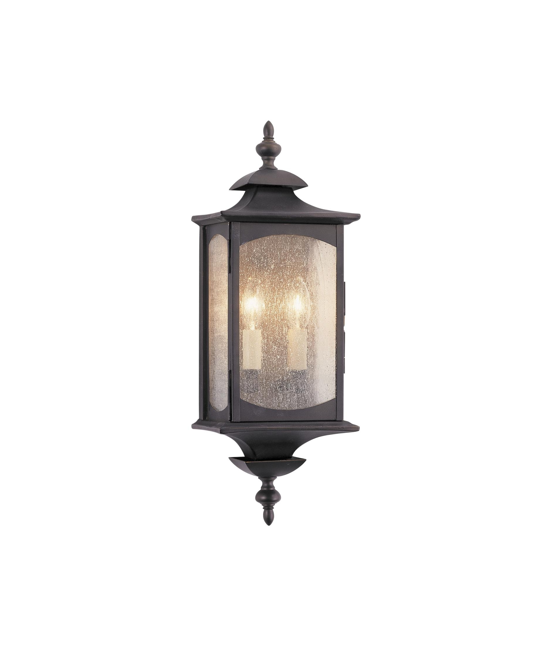 Preferred Outdoor Wall Lighting With Seeded Glass Within Murray Feiss Ol2601 Market Square 7 Inch Wide 2 Light Outdoor Wall (View 18 of 20)