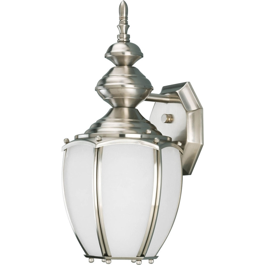 Preferred Silver Outdoor Wall Lights Inside Shop Progress Lighting Roman Coach (View 12 of 20)