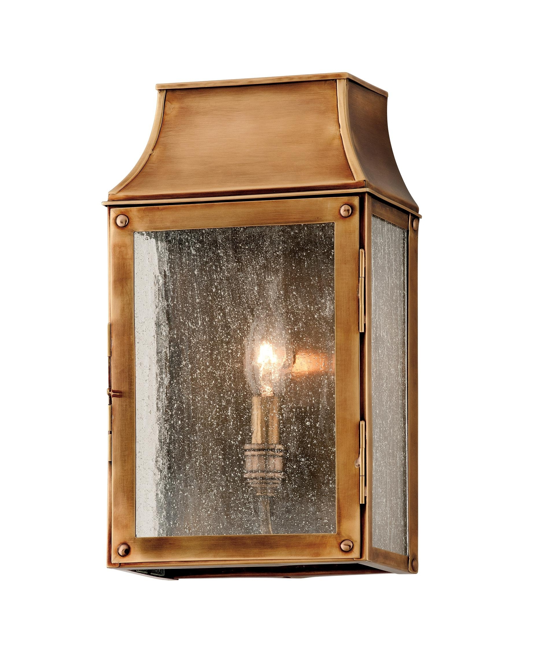 Preferred Troy Lighting B3421 Beacon Hill 7 Inch Wide 1 Light Outdoor Wall For Outdoor Wall Lighting With Seeded Glass (View 19 of 20)
