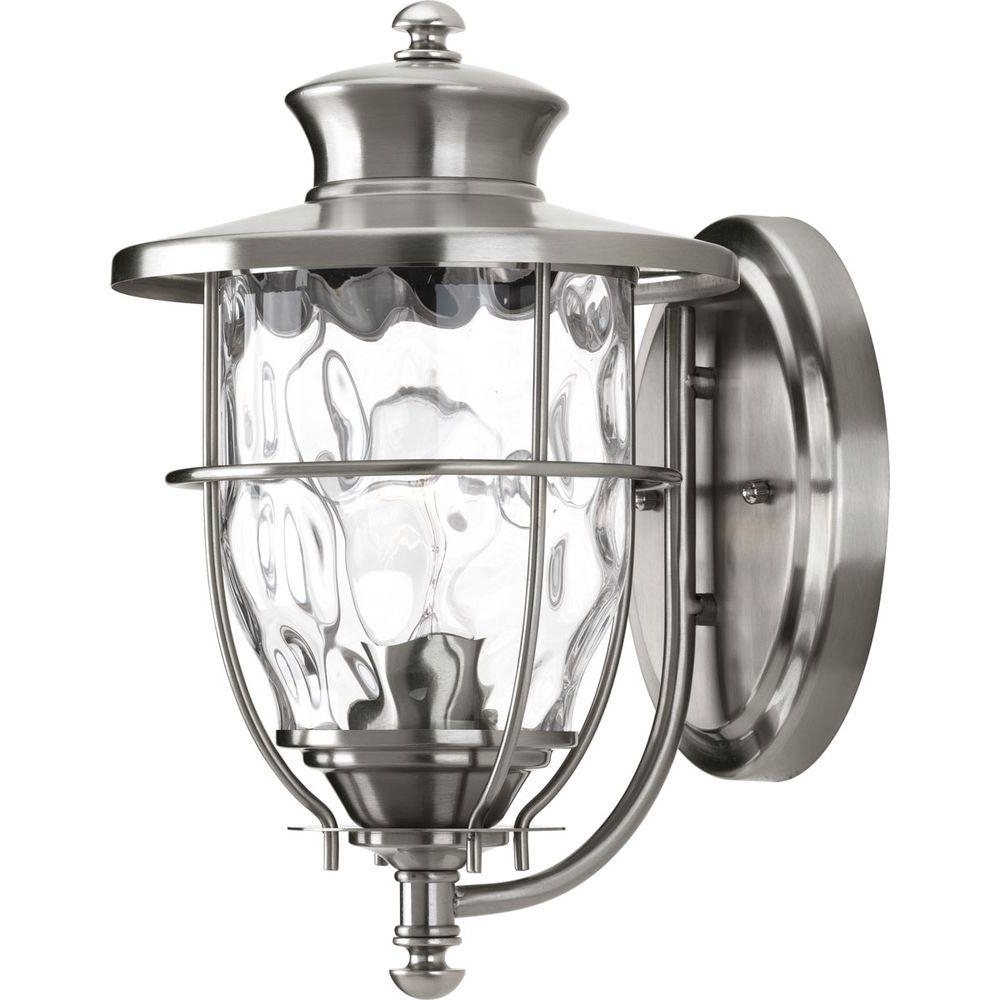 Progress Lighting Beacon Collection 1 Light 6 Inch Stainless Steel Pertaining To Widely Used Beacon Outdoor Wall Lighting (View 4 of 20)