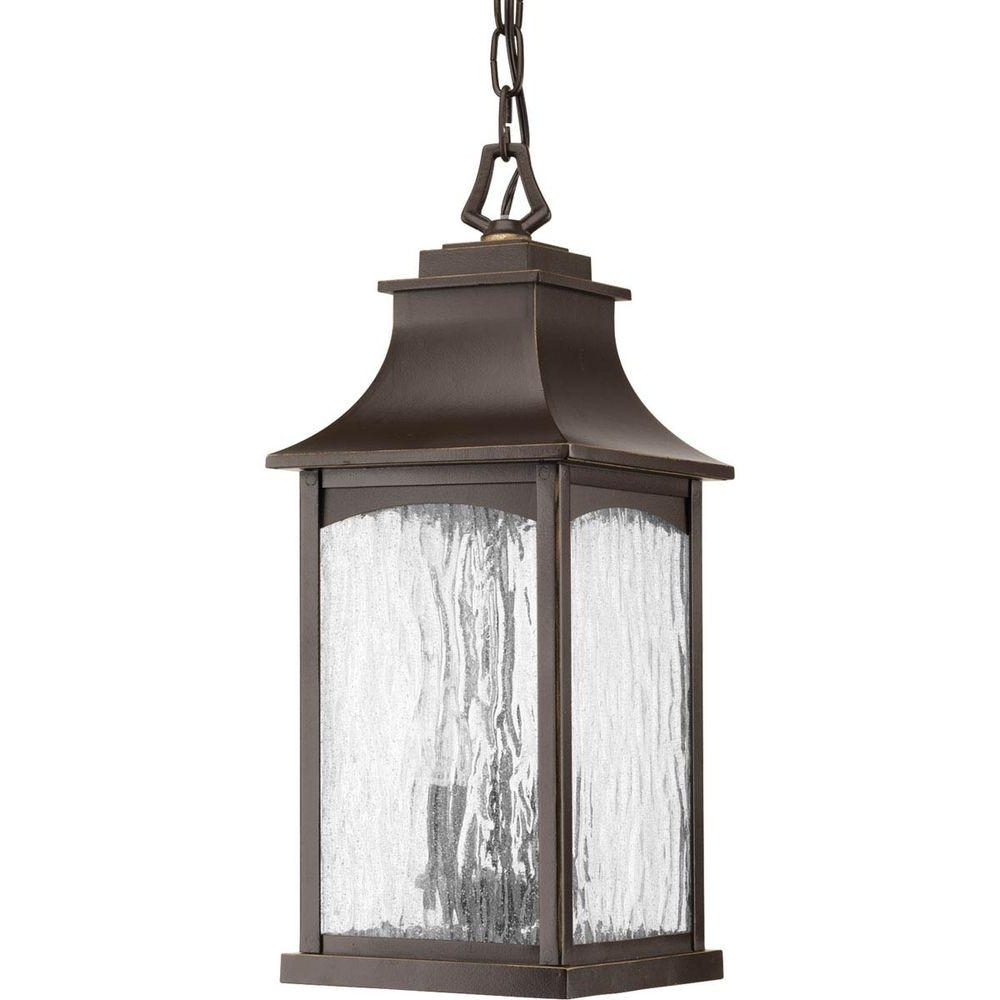 Progress Lighting Maison Collection 2 Light Outdoor Oil Rubbed With Preferred Outdoor Hanging Oil Lanterns (View 5 of 20)