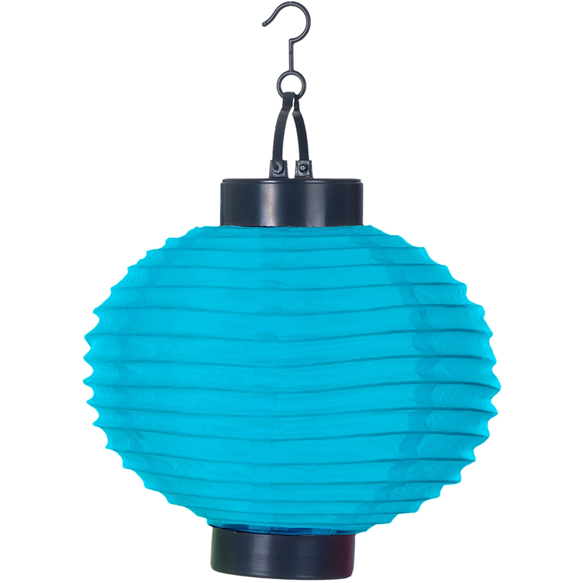 Pure Garden Outdoor Solar Chinese Lanterns, Led, Set Of 4 – Walmart Throughout Most Recent Led Outdoor Hanging Lanterns (View 8 of 20)
